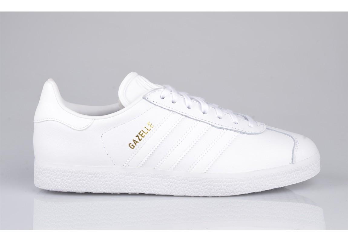 36b220551540 Acheter adidas gazelle blanche cuir femme original pas cher ici en ligne  avec le prix le plus bas possible. Remises spéciales sur les nouvelles  offres 2018.