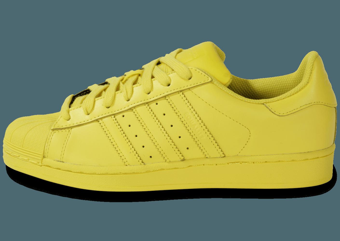 adidas superstar jaune Avis en ligne