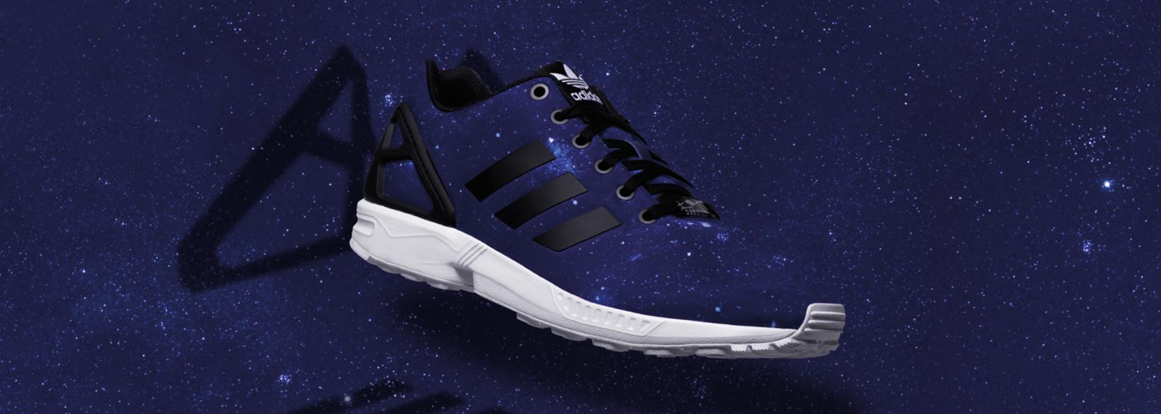 nouveau produit 05646 4ea74 adidas zx flux galaxy bleu Avis en ligne