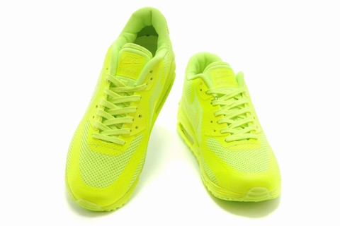 Speciale Chaussure Nike Jaune Fluo Baskets Nike Pas Cher